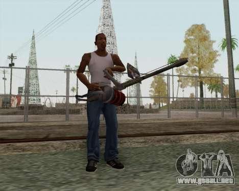 Nuevo lanzallamas para GTA San Andreas segunda pantalla