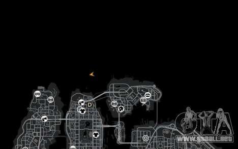 Ubicación del counter-strike De_Dust2 para GTA 4 novena de pantalla