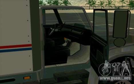 Yankee GTA 4 para GTA San Andreas vista posterior izquierda