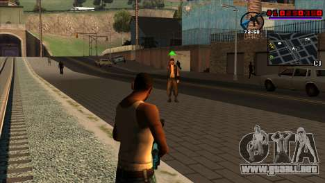 C-HUD Project Capture 6 para GTA San Andreas segunda pantalla