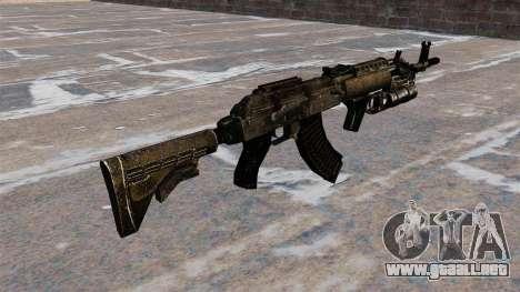 AK-47 GP-25 para GTA 4 segundos de pantalla
