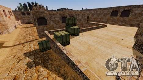 Ubicación del counter-strike De_Dust2 para GTA 4 tercera pantalla