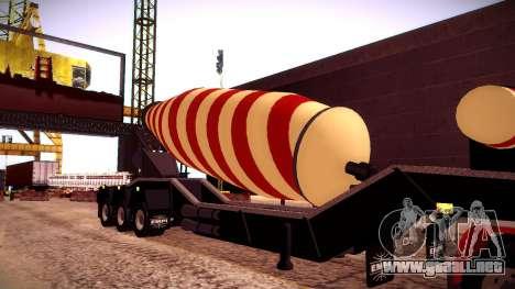 Cement Mixer para la visión correcta GTA San Andreas