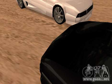 Sheetah Restyle para vista lateral GTA San Andreas