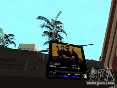 Oka VAZ 1111 para visión interna GTA San Andreas