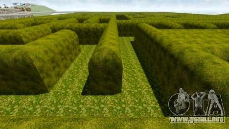 Laberinto para GTA 4 adelante de pantalla