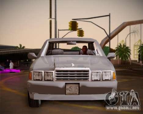 GTA III Kuruma para visión interna GTA San Andreas
