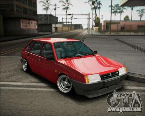 VAZ 2109 postura para GTA San Andreas