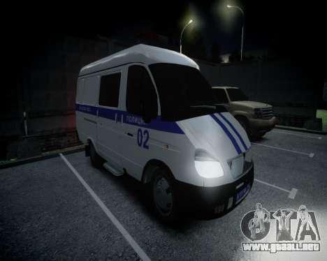 Policía gacela 2705 para GTA 4 left