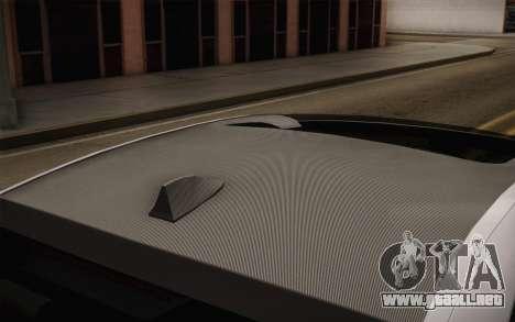 BMW M5 2012 para la visión correcta GTA San Andreas