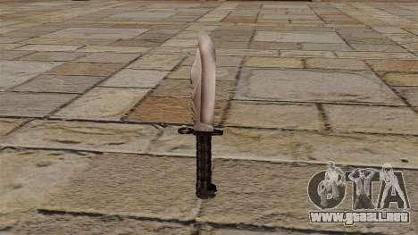 Cuchillo acosador para GTA 4