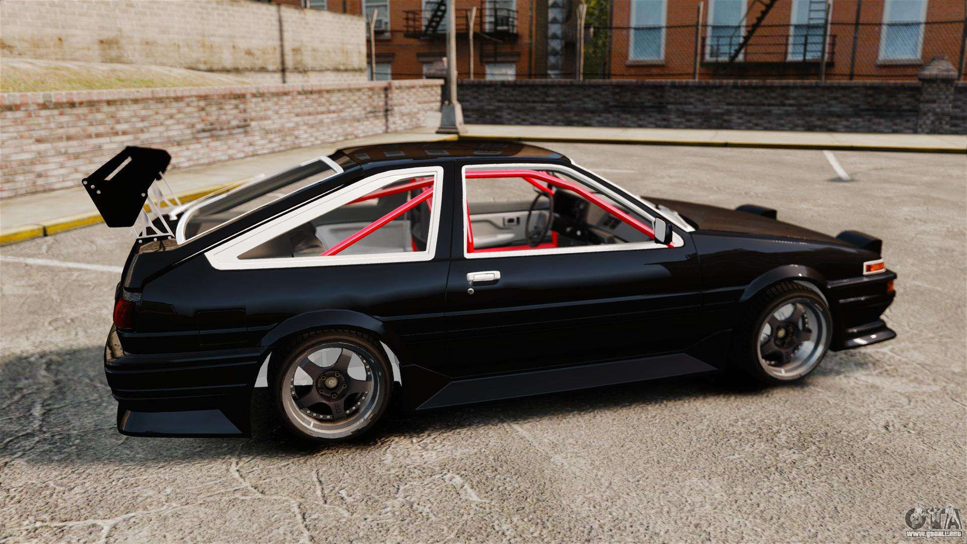 toyota sprinter trueno ae86 drifting para gta 4. Black Bedroom Furniture Sets. Home Design Ideas