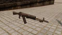 El fusil de asalto an-94 Abakan