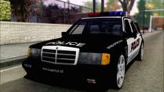 Mercedes-Benz 190E Evolution Police para GTA San Andreas