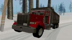 Peterbilt 379 Dump Truck para GTA San Andreas