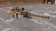 El rifle de sniper M110