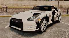 Nissan GT-R Black Edition 2012 Ski Slope Camo