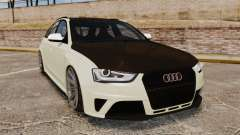 Audi RS4 Avant VVS-CV4 2013 para GTA 4