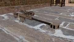 Rifle de francotirador Barrett M95 para GTA 4
