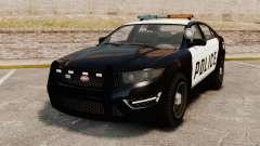 GTA V Vapid Police Interceptor para GTA 4