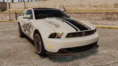 Ford Mustang 2012 Boss 302 Fiery Horse para GTA 4