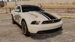 Ford Mustang 2012 Boss 302 Fiery Horse para GTA 4