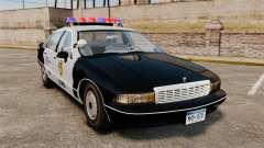 Chevrolet Caprice Police 1991 v2.0 LCPD para GTA 4