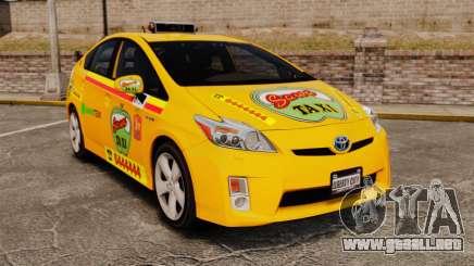 Toyota Prius 2011 Warsaw Taxi v1 para GTA 4