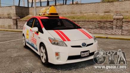 Toyota Prius 2011 Warsaw Taxi v4 para GTA 4