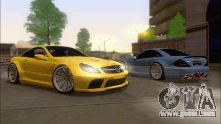 Mercedes-Benz SL65 AMG GB para GTA San Andreas