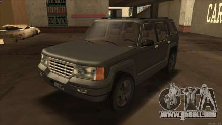 Landstalker HD from GTA 3 para GTA San Andreas