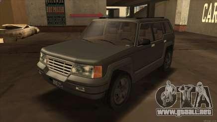 Landstalker HD from GTA 3 para GTA San Andreas