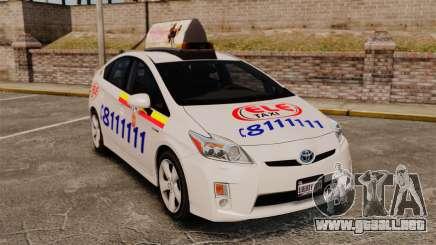 Toyota Prius 2011 Warsaw Taxi v3 para GTA 4