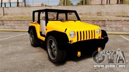 Jeep Wrangler Rubicon 2012 para GTA 4