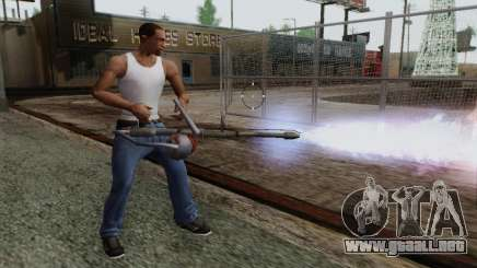 Nuevo lanzallamas para GTA San Andreas