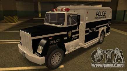 Enforcer HD from GTA 3 para GTA San Andreas