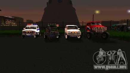 VAZ 212140 policía para GTA San Andreas