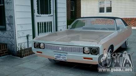 Chrysler New Yorker 1971 para GTA 4