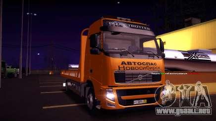 Volvo FH12 grúa para GTA San Andreas