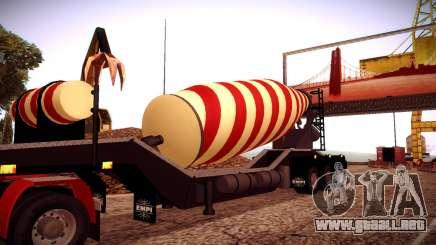 Cement Mixer para GTA San Andreas