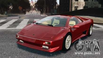 Lamborghini Diablo VT 1994 para GTA 4