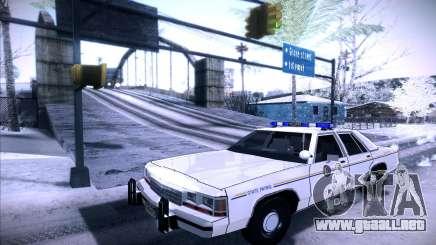 Police North Yankton para GTA San Andreas