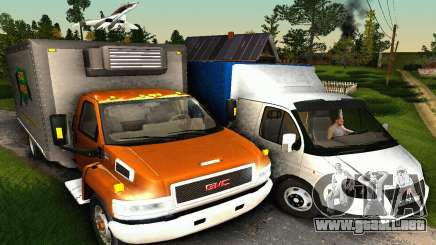 GMC Top Kick C4500 Dryvan House Movers 2008 para GTA San Andreas