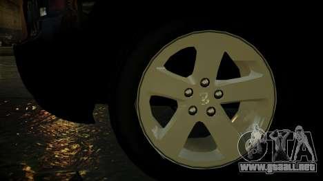 Dodge Charger LAPD 2008 para GTA 4 vista lateral