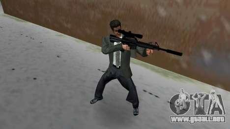 M4 con el arma de francotirador para GTA Vice City
