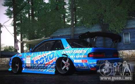 Nissan Silvia S13 Toyo para GTA San Andreas left