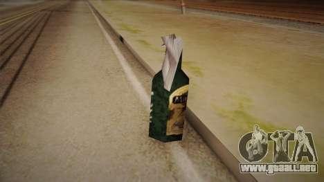 Cóctel Molotov de Max Payne para GTA San Andreas