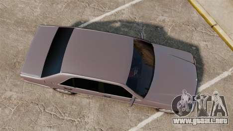 Mercedes-Benz S600 W140 para GTA 4 visión correcta
