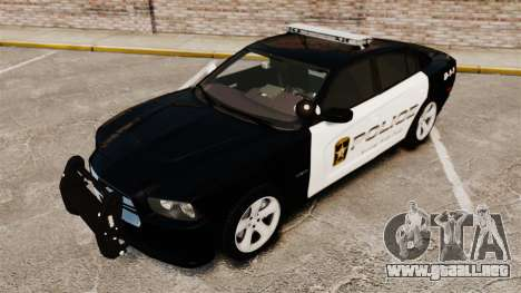 Dodge Charger RT 2012 Police [ELS] para GTA 4 vista lateral