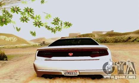 Búfalo de GTA V para GTA San Andreas interior